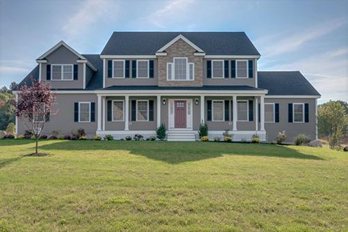 new home exterior MA