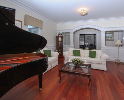 living room for grand piano MA