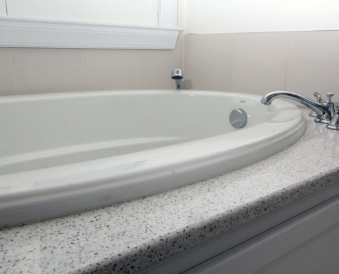 tub in custom home MA
