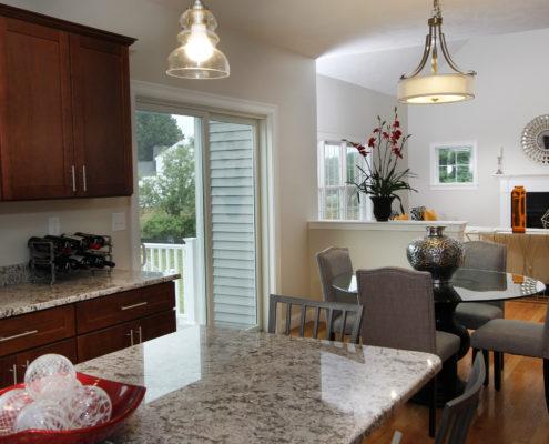 MA new home open floorplan