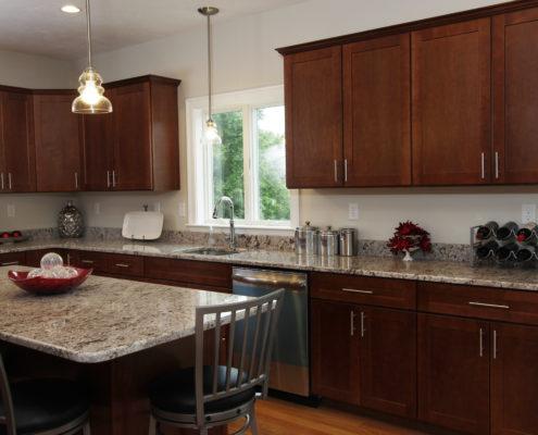 MA new home kitchen