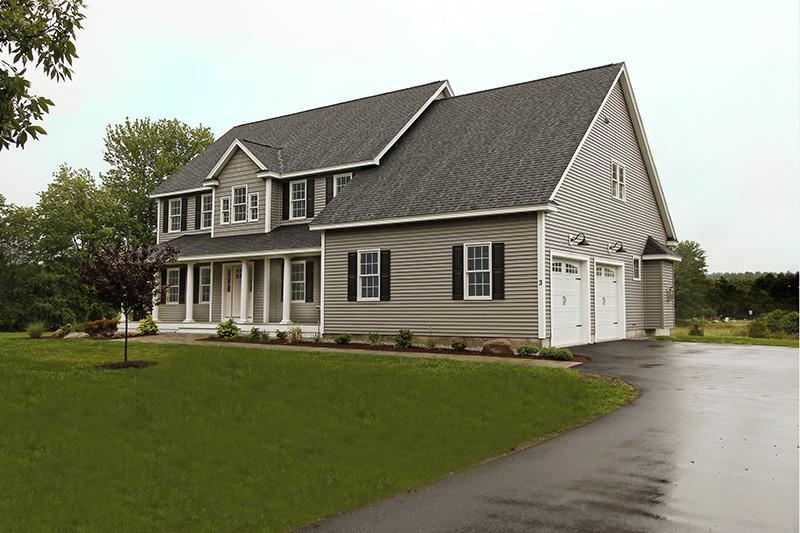 custom home in Westford MA